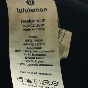 lululemon athletica Accessories - Lululemon baseball cap in black adjustable